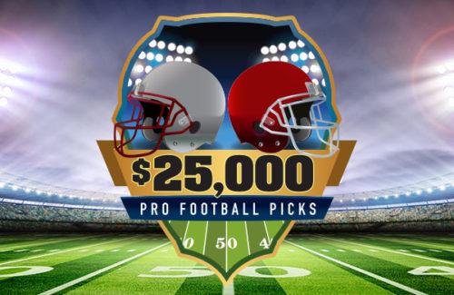 $25,000 PRO FOOTBALL PICKS