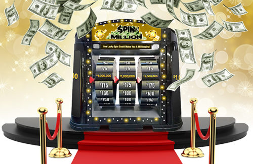 $1 MILLION RING IN THE NEW YEAR
